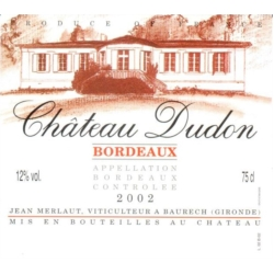 CH. DUDON Rouge